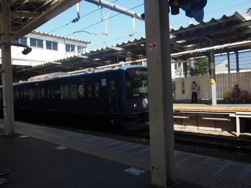 20191030・薬用植物園鉄4・萩山駅2
