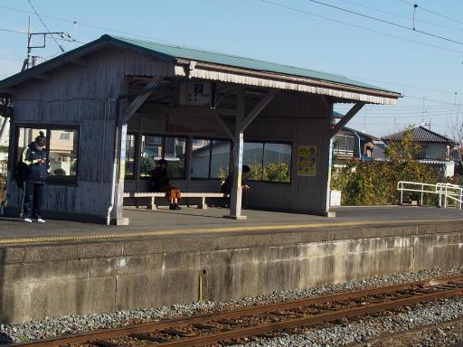 20191201・深谷ドライブ1-21・屋根付きのホーム