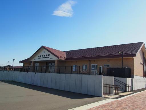 20191201・深谷ドライブ空08・ふかや花園駅舎と空