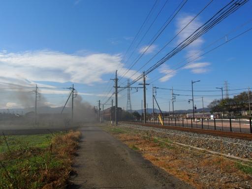 20191201・深谷ドライブ鉄13・汽車は出てゆく煙は残る