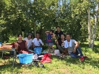 2019.09.08、増岡家族