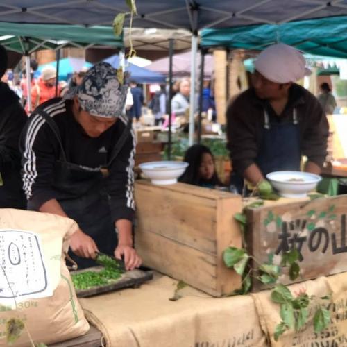 有機農家の収穫祭 3