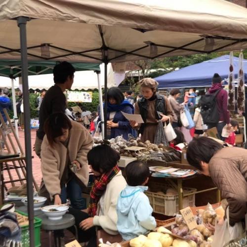 有機農家の収穫祭 1