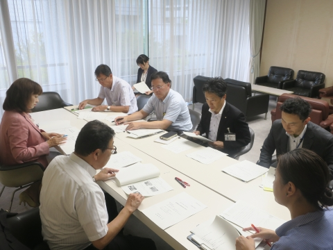 「代表質問・議員会・正副委員長会議・大井川知事を励ます会」⑥
