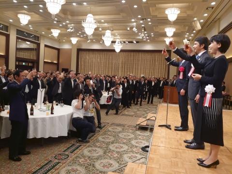 「代表質問・議員会・正副委員長会議・大井川知事を励ます会」⑧
