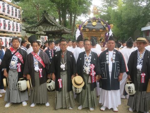 「令和元年度常陸國總社宮例大祭」9月14日神幸祭⑧_R