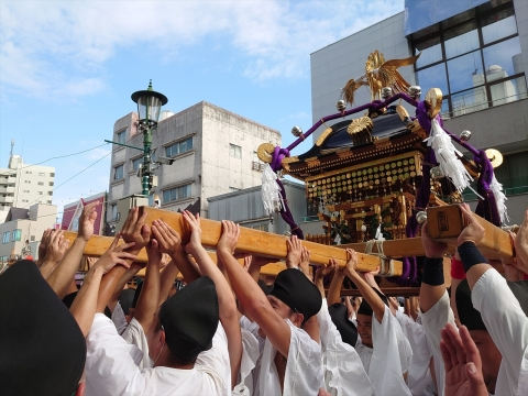 「令和元年度常陸國總社宮例大祭」9月14日神幸祭㉕_R
