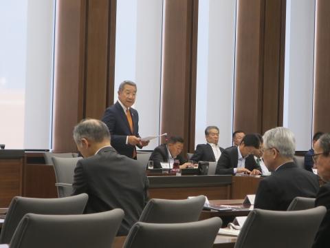 「予算特別委員会&いじめ問題勉強会」②