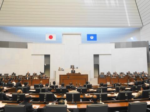 「令和元年度茨城県議会第3回定例会が閉会しました!」④