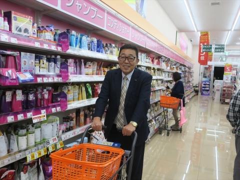 「台風対策の為にお買い物に行きました。」①_R