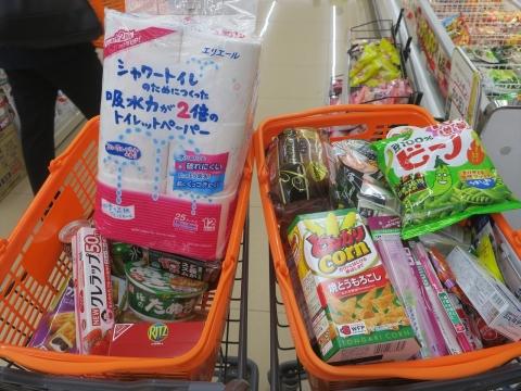 「台風対策の為にお買い物に行きました。」④_R1_R