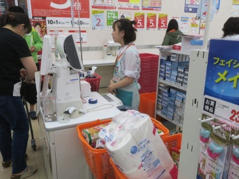「台風対策の為にお買い物に行きました。」④_R2_R