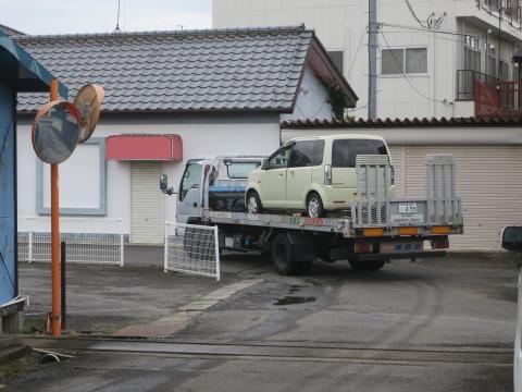 「廃車が決定しました。」③