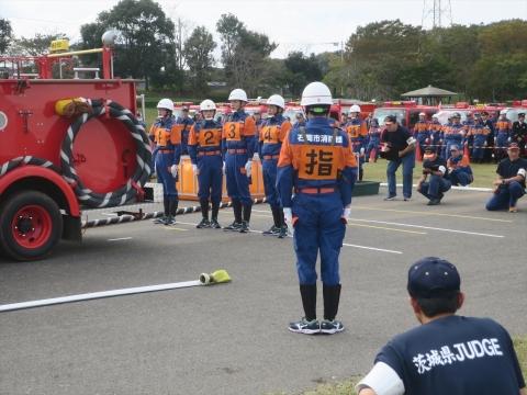 「第70回茨城県県南北部消防ポンプ操法大会9・20分団」 (32)