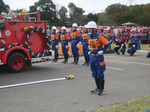 「第70回茨城県県南北部消防ポンプ操法大会9・20分団」 (33)