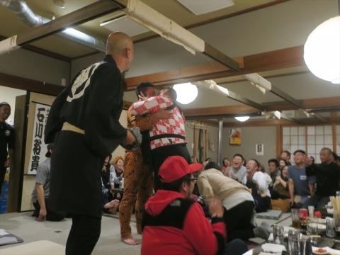 「飛鳳會 會長代替わり襲名披露&笠抜き」 (27)