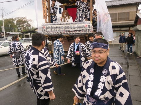 「令和元年度日天宮例大祭」山車巡行⑧_R
