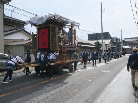 「令和元年度日天宮例大祭」山車巡行㊱_R