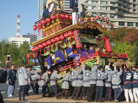 「天皇陛下御即位をお祝いする国民祭典「奉祝祭り」㉝_R