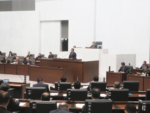 「茨城県議会第4回定例会にて委員長報告・条例制定」②