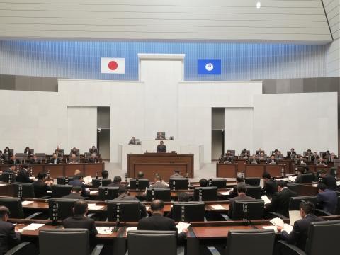 「茨城県議会第4回定例会にて委員長報告・条例制定」③