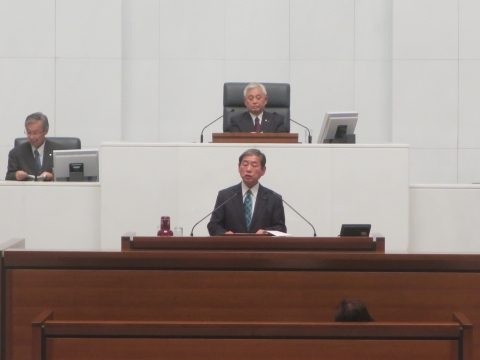 「茨城県議会第4回定例会にて委員長報告・条例制定」⑨