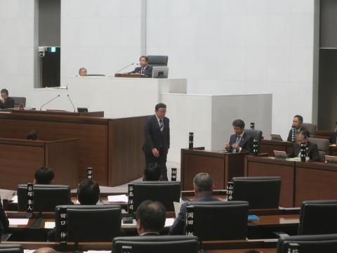 「茨城県議会第4回定例会にて委員長報告・条例制定」④