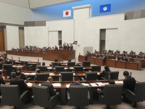 「茨城県議会第4回定例会にて委員長報告・条例制定」⑧