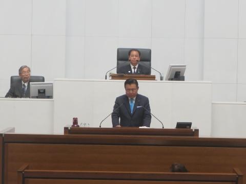 「茨城県議会第4回定例会にて委員長報告・条例制定」⑩