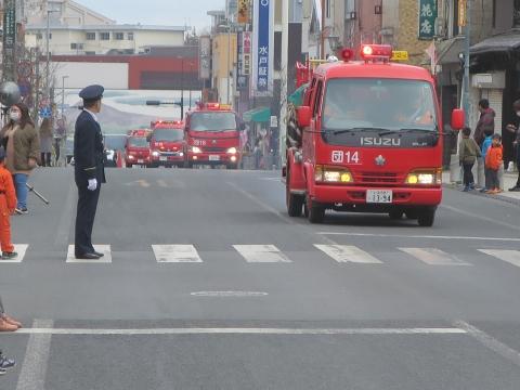 「令和2年石岡市消防出初式」 (34)