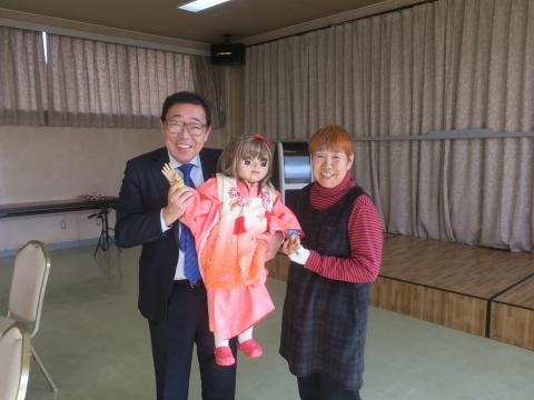 「府中地区女性の会・隊友会・消防OB会」新年会①