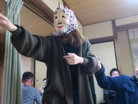 「若松囃子連新年会」威風園⑦
