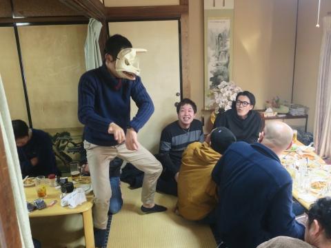 「若松囃子連新年会」威風園⑨