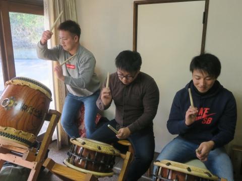 「若松囃子連新年会」威風園⑫