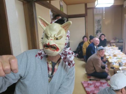 「若松囃子連新年会」威風園⑬