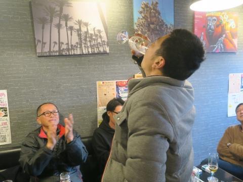 「若松囃子連新年会」威風園㉒