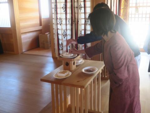「サクラ服装学園 針供養」金毘羅神社④