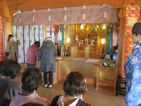 「サクラ服装学園 針供養」金毘羅神社⑥