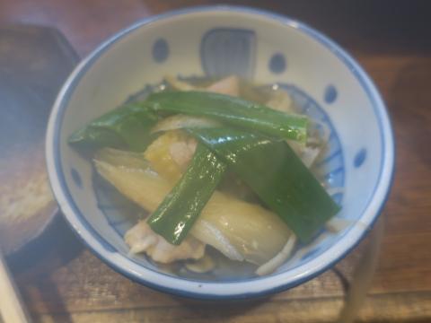 「軍鶏鍋(しゃもなべ)&真鯛の刺身&はたのカルパッチョ」かって屋昭和ごはん⑩_R