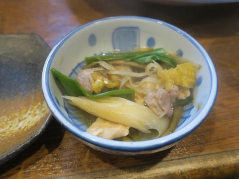 「軍鶏鍋(しゃもなべ)&真鯛の刺身&はたのカルパッチョ」かって屋昭和ごはん⑪_R