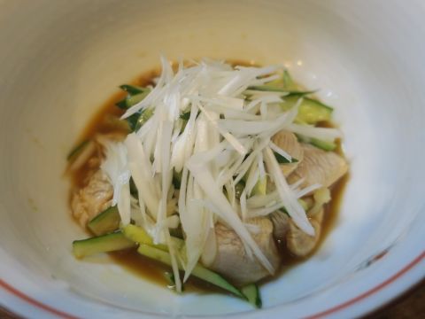 「軍鶏鍋(しゃもなべ)&真鯛の刺身&はたのカルパッチョ」かって屋昭和ごはん⑫_R