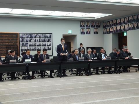 「茨城県令和2年新年度予算内示会」「自民党議員会」①