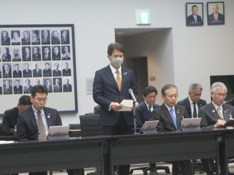 「茨城県令和2年新年度予算内示会」「自民党議員会」②