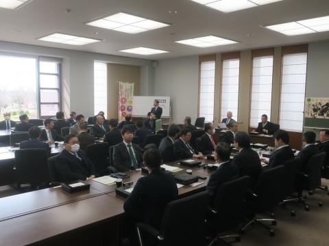 「茨城県令和2年新年度予算内示会」「自民党議員会」④