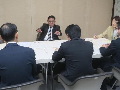 「総務企画委員会」質問勉強会④
