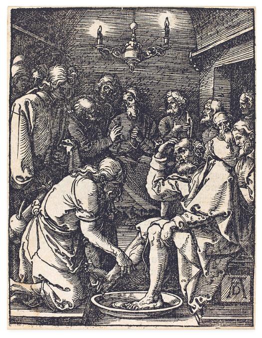 足を洗う イエス