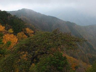 10妙法ヶ岳頂上からの景色1031