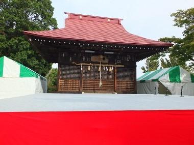 3八坂神社の舞台1103