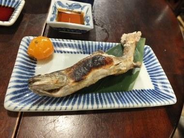 14岩魚塩焼き0111