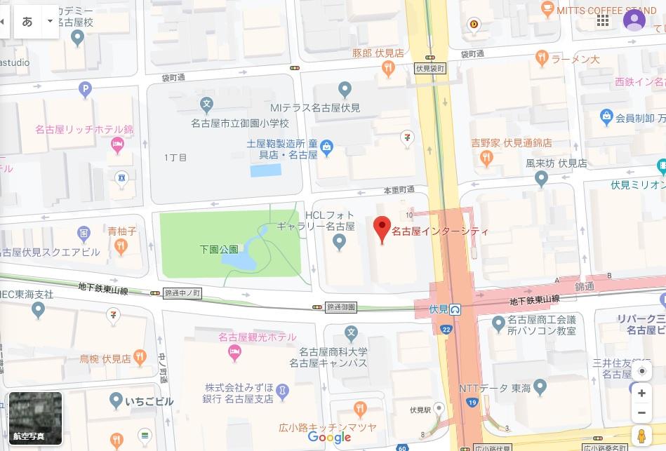 名古屋インターシティ地図